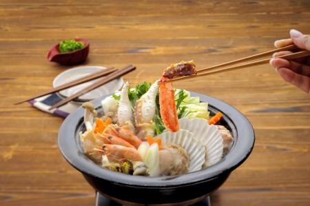 crab pot: Seafoods