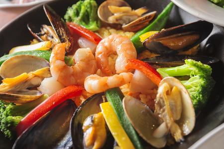 ailment: Seafoods in closeup shot