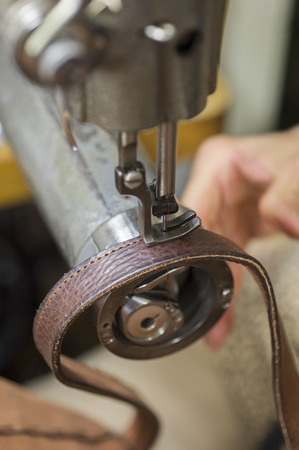 taylor: Sewing machine Stock Photo