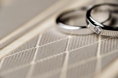 Marriage ring Stock Photo