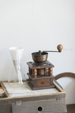 Coffee mill Stock Photo