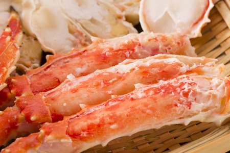 aquatic products: crab