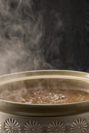 crab pot: Boiled