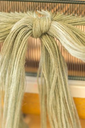 loom: dressmaking Weaving loom
