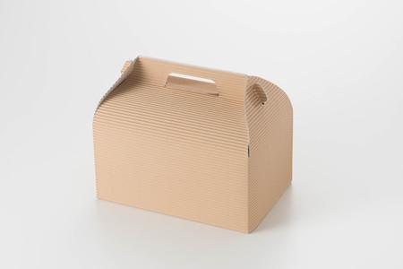 winning proposal: Cake box Stock Photo