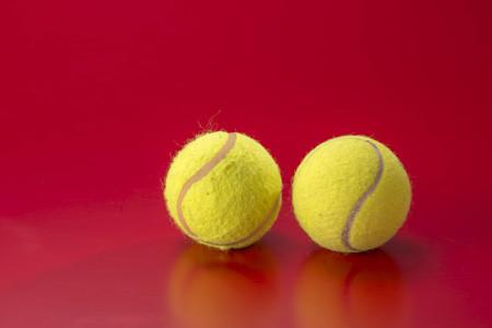 elasticidad: Tenis  Foto de archivo