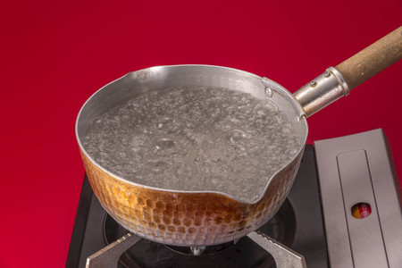 warm water: Hot water Stockfoto