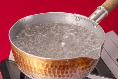 warm water: