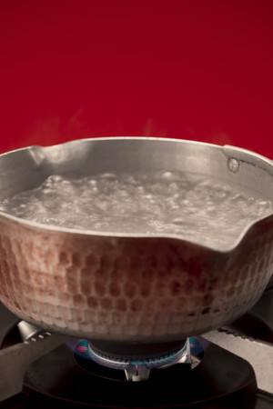 firepower: Hot water Stock Photo