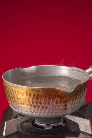 eradication: Hot water Stock Photo