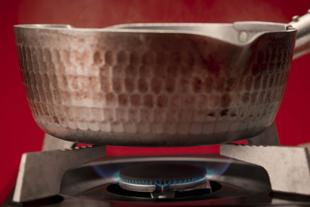 firepower: Hot water Stock Photo
