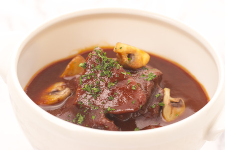stew: Beef stew Stock Photo