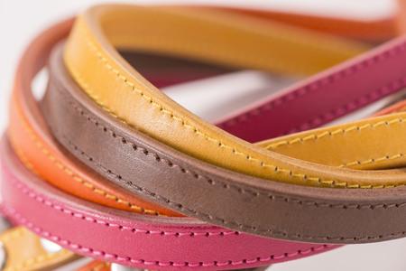 hook up: Leather Stock Photo