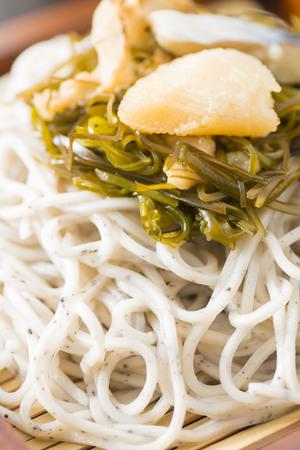 japanese cookery: Buckwheat