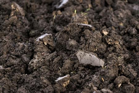 narrowing: Black soil