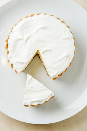tart: Cheese tart Stock Photo