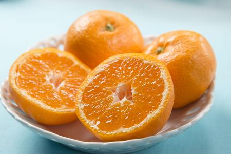 mandarin orange: Mandarin orange Stock Photo