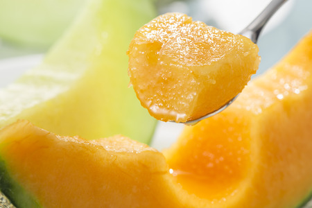 melon field: melon