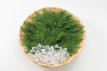 Leaf dish Stock Photo