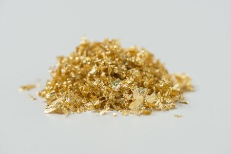 goudpoeder Stockfoto