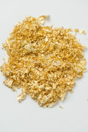 currency glitter: Gold powder