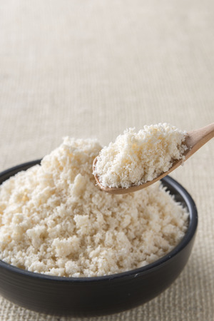 lecithin: soy Powder Stock Photo