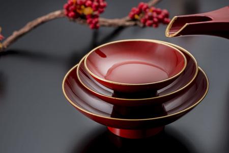 wedding customs: sake