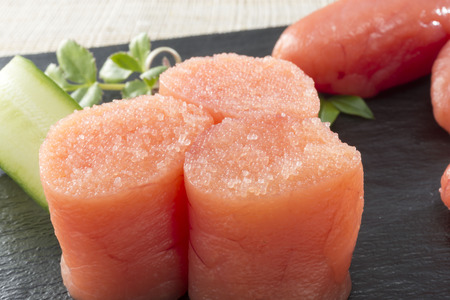 limited: Cod roe Stock Photo