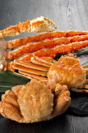 Three major crab