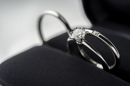Anello di nozze Archivio Fotografico - 78003532