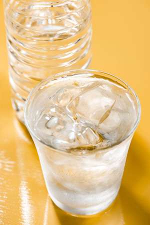 Safe drinking water Stock Photo