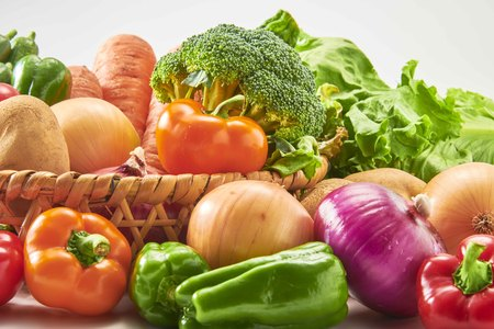 A collection of fresh and delicious vegetables 写真素材