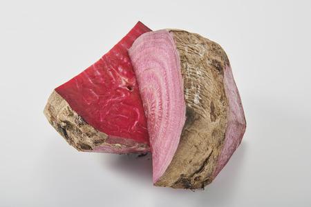 Fresh and nutritious beet Фото со стока