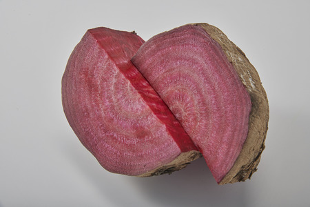 Fresh and nutritious beet Stock Photo