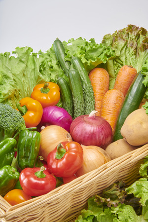 Fresh and delicious vegetables
