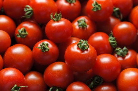 Assorted fresh mini tomatoes