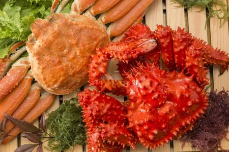 Deliziosi piatti giapponesi di salmone