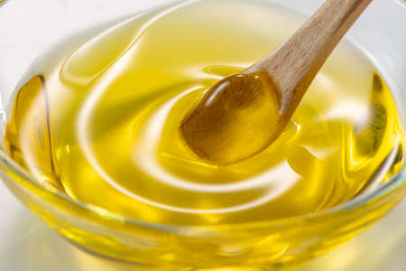 Fresh, delicious and healthy olive oil Stockfoto