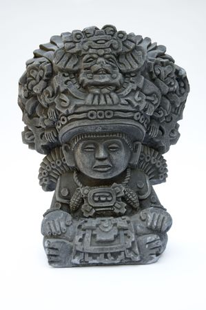 Statue of the Mexican Corn God