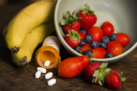 Fruit and medication as a way to a healthy lifestyle