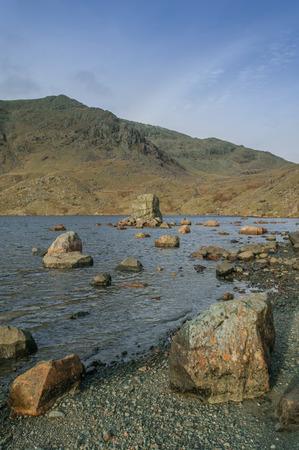lake district: Lake District ,Mountain Tarn