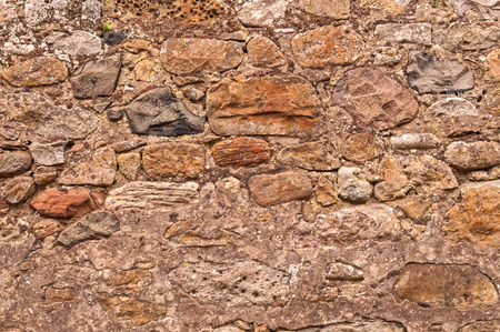 stonewall: Old Rustic Stonewall Background Stock Photo