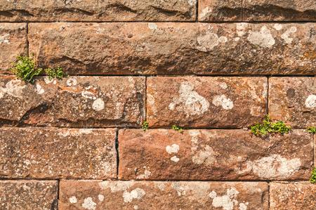 no boundaries: Stone Wall Stock Photo