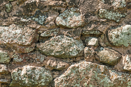 Old Rustic Stonewall Background photo