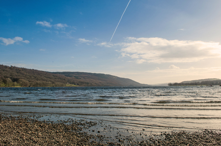 Coniston Water English Lake District Cumbria Stock Photo