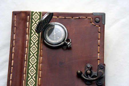 Journal book with watch