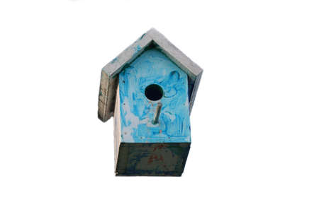 Image of old bird house