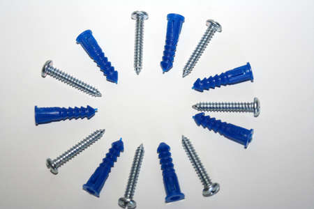sinkers: Image of nails and sinkers Stock Photo