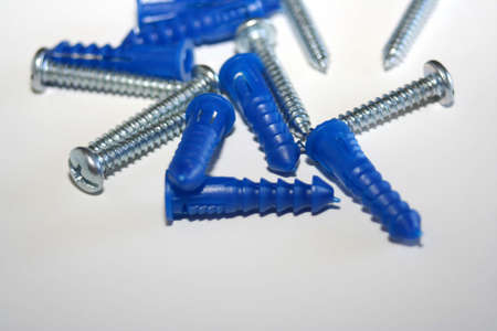 sinkers: Closeup of nails and sinker