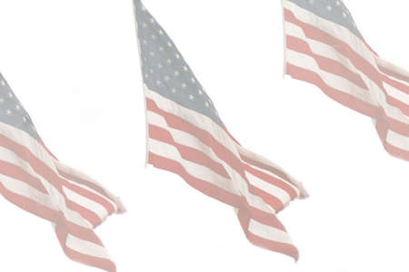 faded: Faded images of the American flag